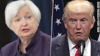 janet yellen donald trump