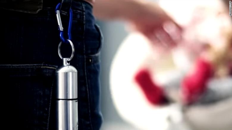 allergystop keychain