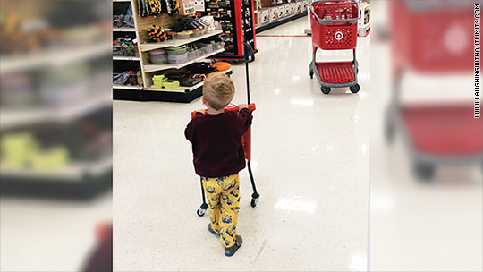 Target gets rid of kid-sized 'demon mini carts' after backlash