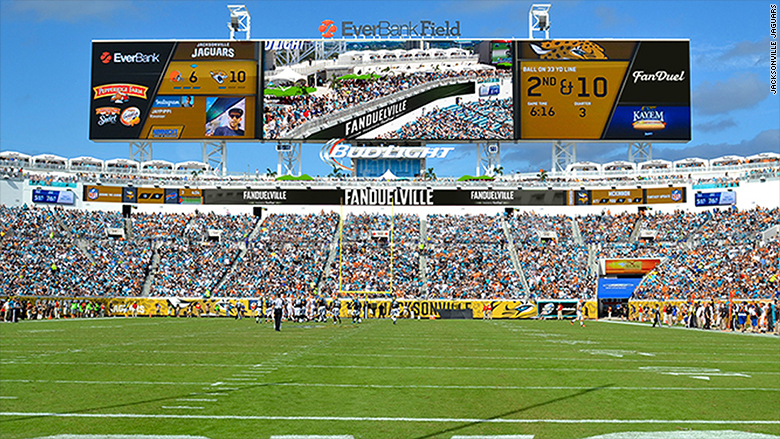 stadium tech agility in action jaguars stadium