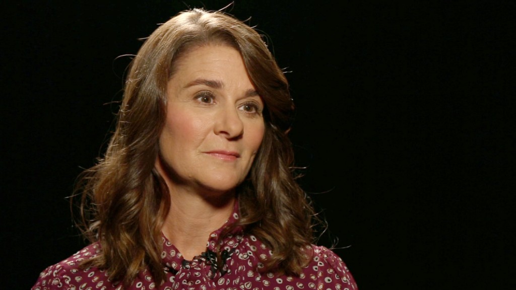 Melinda Gates: 'Poverty is sexist'