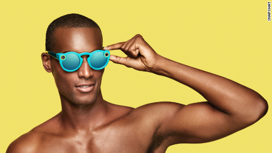 Snapchat introduces Spectacles
