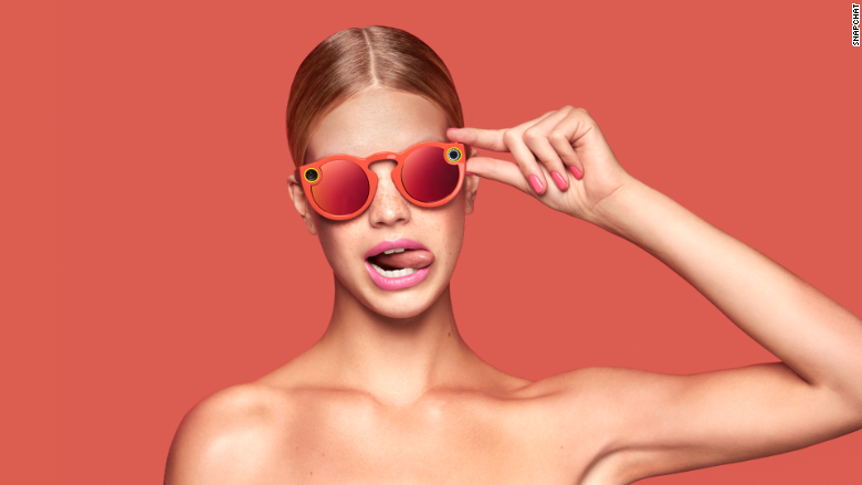Snapchat spectacles woman