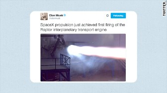 spacex raptor tweet