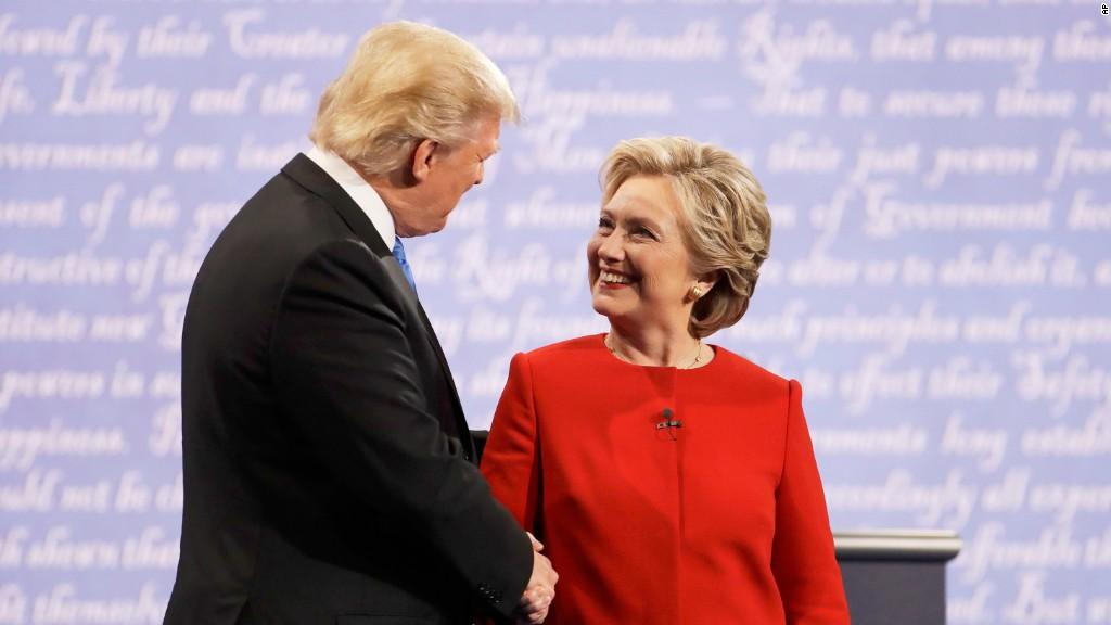 Trump, Clinton spar over jobs