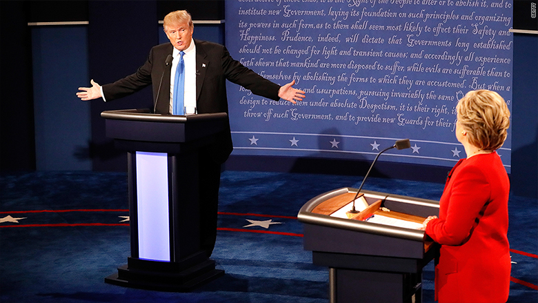 debate trump clinton 2