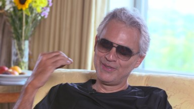 Andrea Bocelli: 'I hope my music has evolved'
