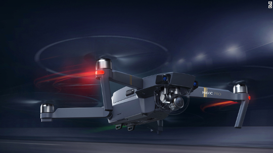 DJI launches drone the size of water bottle