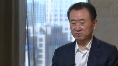 China's richest man's Hollywood ambitions