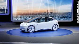 VW ID concept paris front