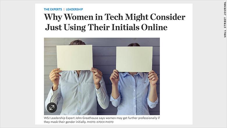 women in tech wsj