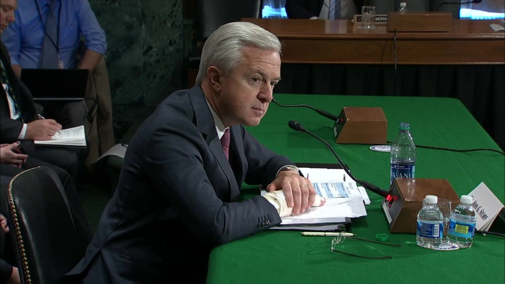 Who is John Stumpf?