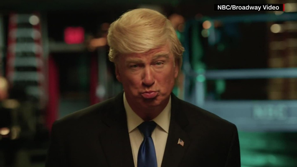'Saturday Night Live' returns with Baldwin's Trump facing off against McKinnon's Clinton