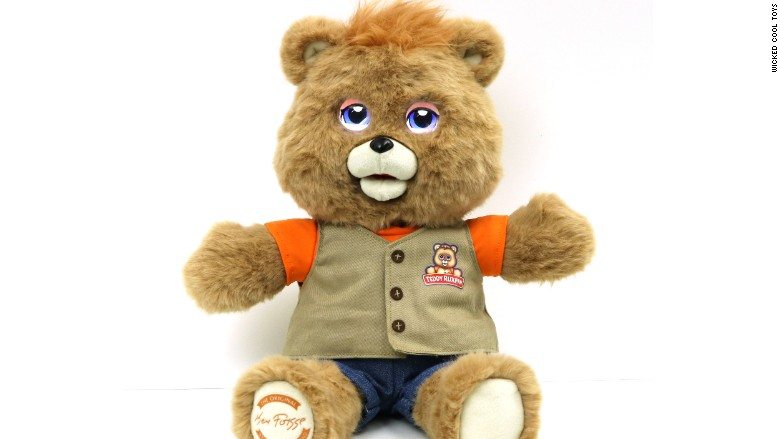 teddy ruxpin the iconic talking teddy bear from the 1980s is
