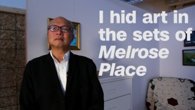 How I hid art in 'Melrose Place'