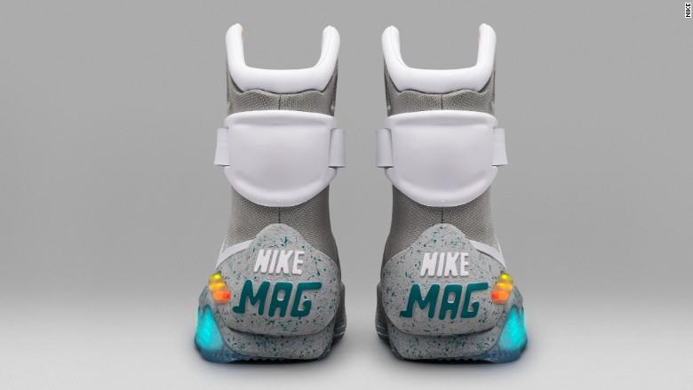 nike mag self tying sneaker 2