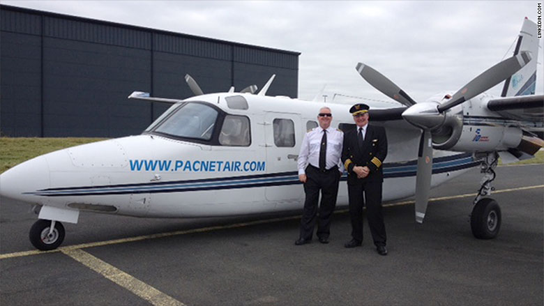 mail 3 pacnet executives plane