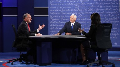 Pence, Kaine get smallest audience for VP debate since 2000