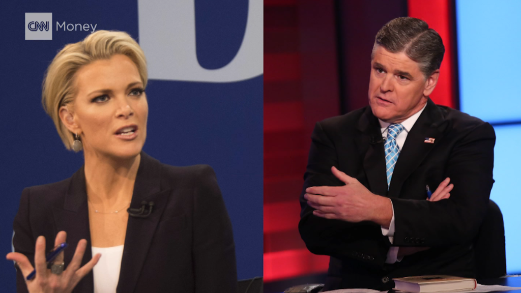 Fox Fight: Megyn Kelly vs. Sean Hannity