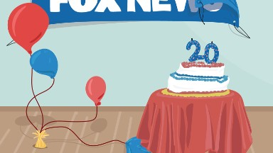 Fox News marks 20th anniversary with subdued celebration after Ailes scandal