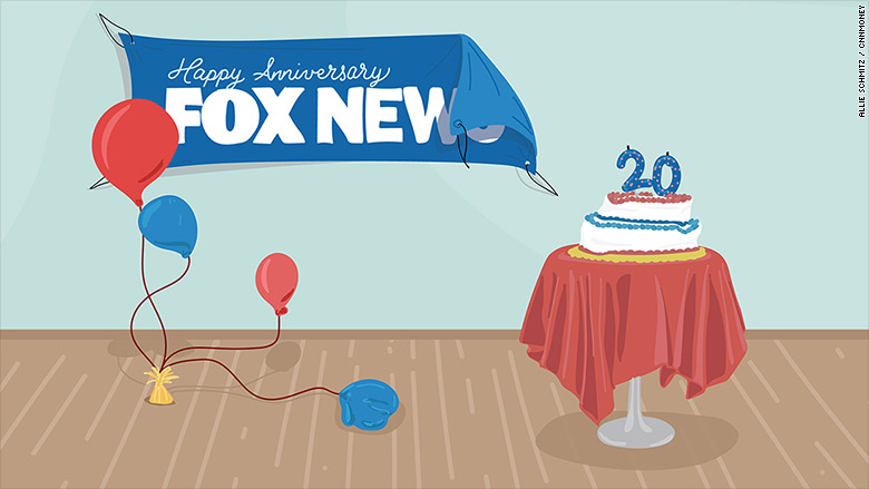 fox 20th anniversary