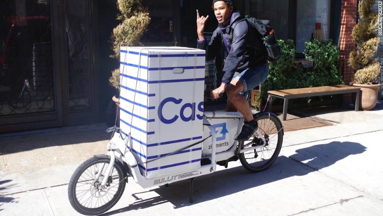 Casper bike courier box