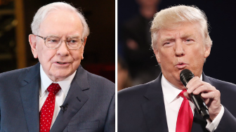 Buffett Trump split