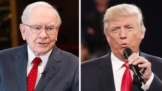 Warren Buffett's fortune soars higher, thanks to Trump