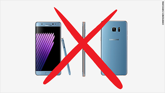 Samsung making it hard to charge your Note 7