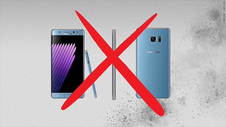 Samsung blames batteries for Galaxy Note 7 fires