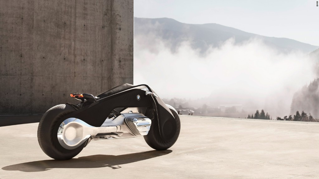 BMW imagines motorcycle of the future