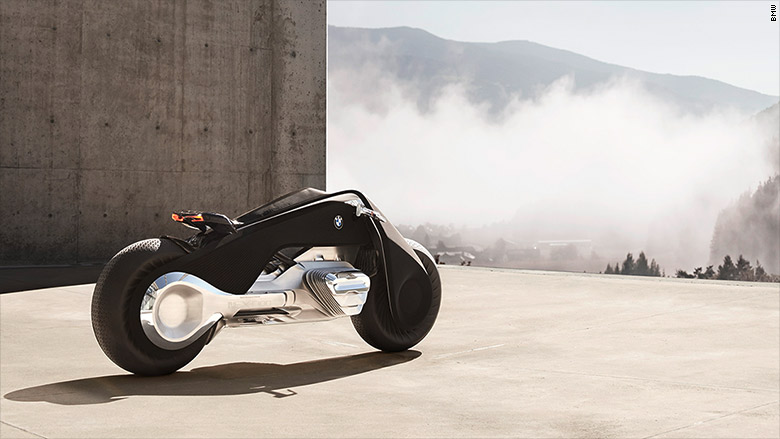 bmw's self-balancing motorcycle of tomorrow - oct. 11, 2016