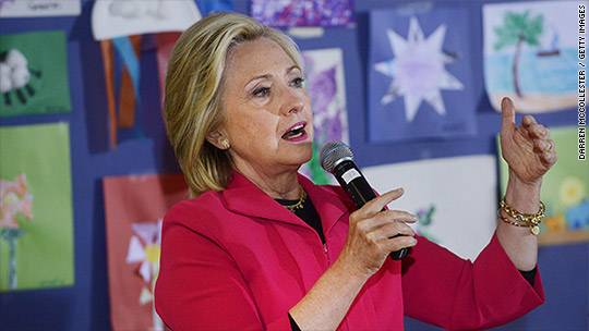 Clinton wants to double the child tax credit