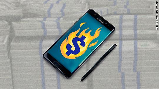 Samsung's mobile profits take monster hit