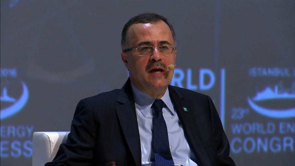 Saudi Aramco CEO: Happy to share financials when we go public