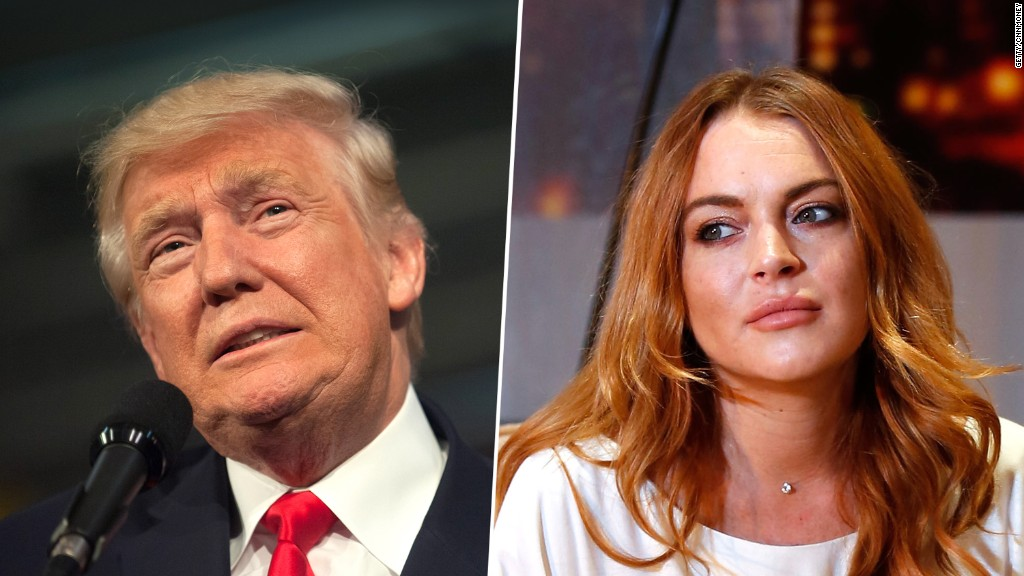 Trump on Lindsay Lohan in 2004: Troubled women are 'best in bed'