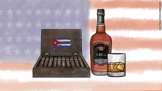 White House eases restrictions on Cuban cigars and rum