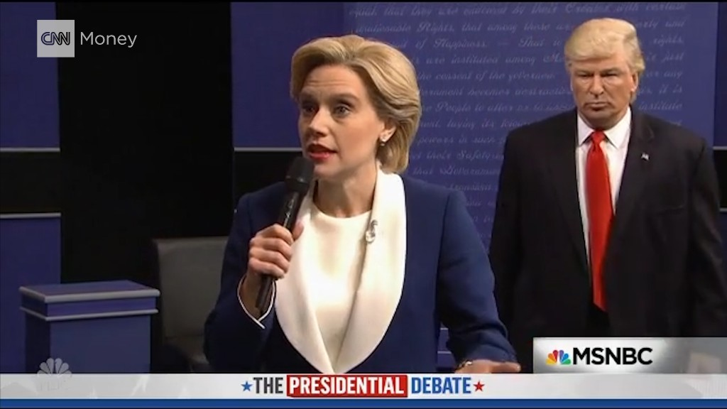 'Saturday Night Live' mocks second Trump and Clinton debate