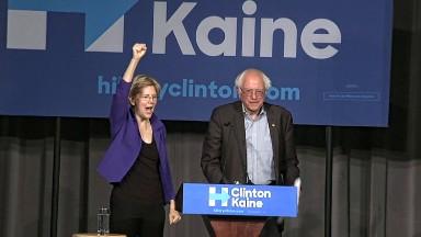 Elizabeth Warren's star is rising. Wall Street is worried