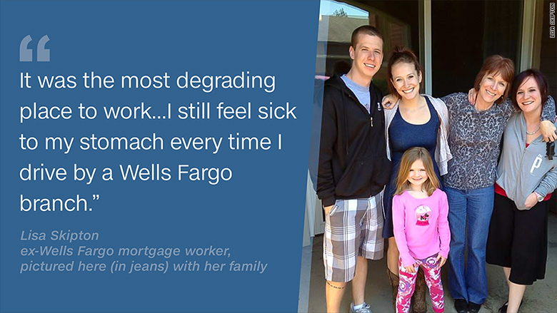 ex wells fargo employees