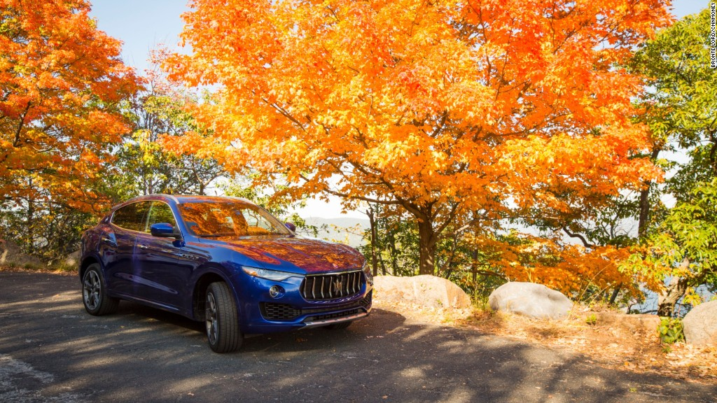 Maserati's first SUV is cheaper than you'd guess