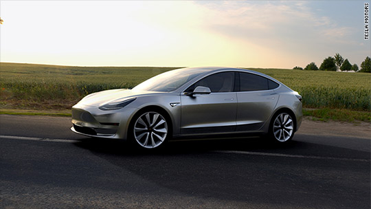 Tesla to deliver first Model 3 cars this month