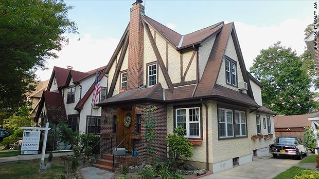 Donald Trump's childhood home sells ... again. For a massive profit