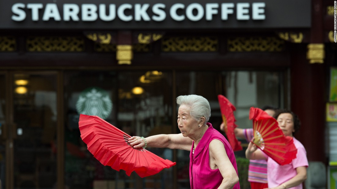 China will get a new Starbucks every day for 5 years