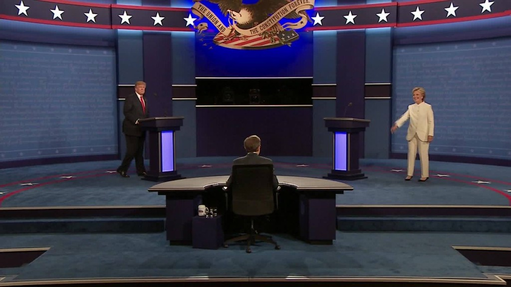 A final nasty debate in 90 seconds