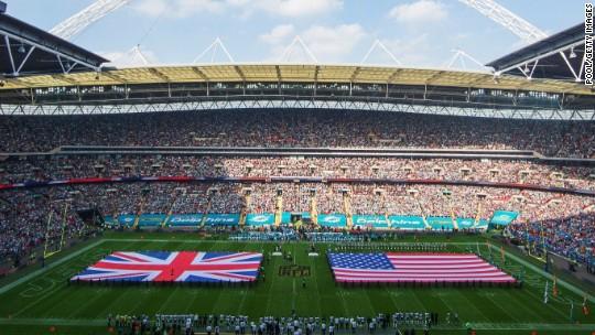 Football for breakfast: NFL keeps early start in London