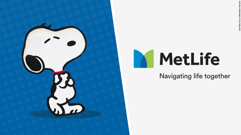 MetLife is dumping Snoopy