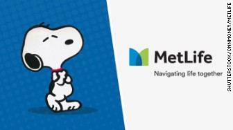 metlife retires snoopy