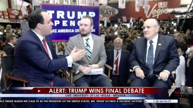 The Facebook Live stream that could presage Trump TV