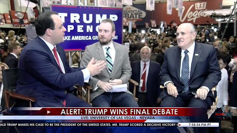 facebook live trump